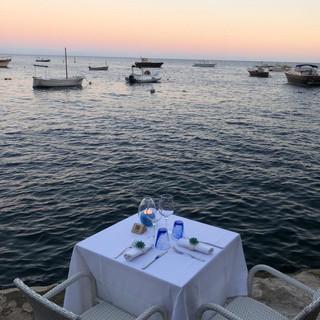 Cena romantica al Pirata ristorante