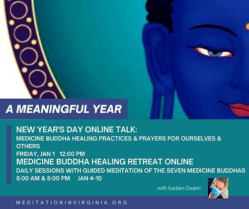 New Year's Day TALK + RETREAT