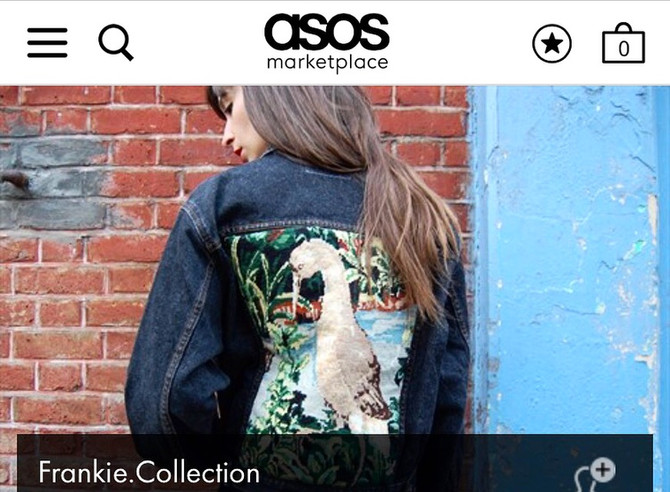 Frankie. is On Asos Marketplace!