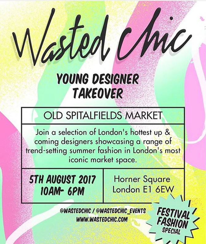 Frankie. at Spitalfields For Wasted Chic