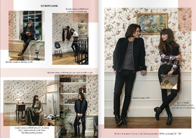 Frankie. is in the new Issue of Le Bonbon London!