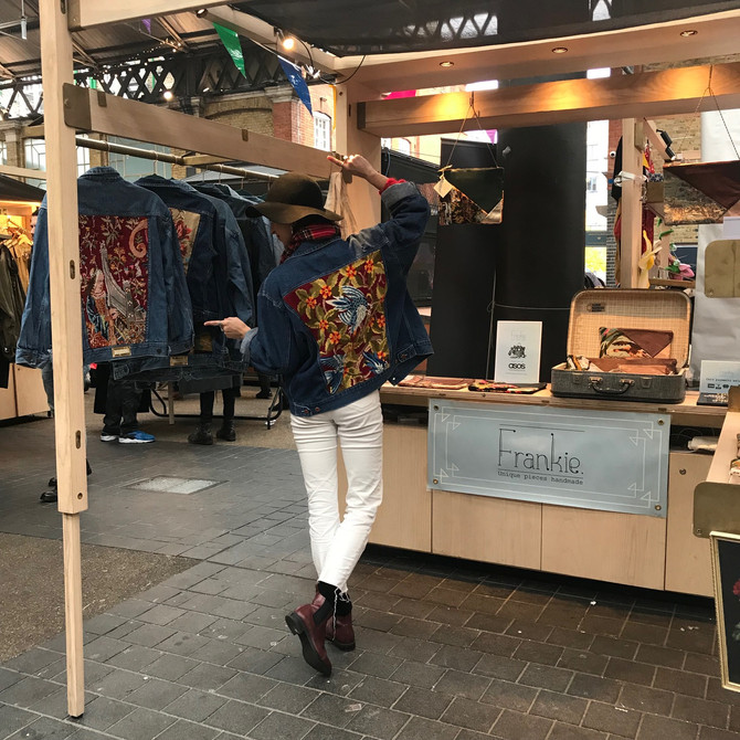 Anti Black Friday Pop Up Wasted Chic x Student High Street at Old Spitalfields Market
