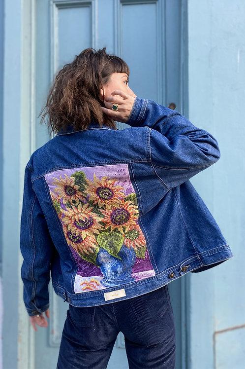 Jacket Sunflowers (S)