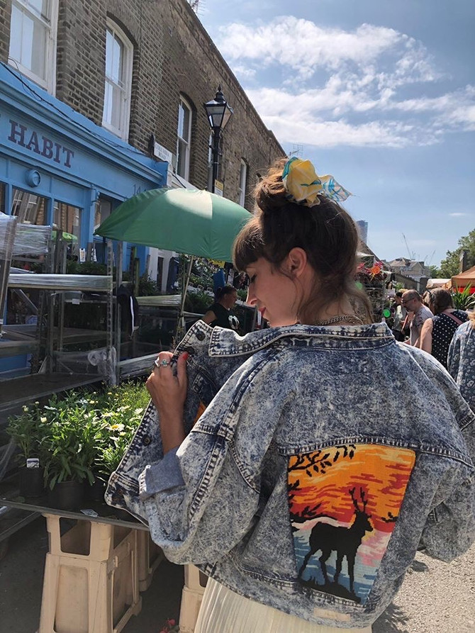 Sustainable Pop Up on Colombia Road