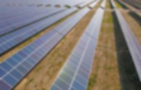 Distesa di  pannelli solari