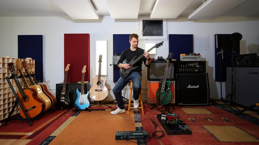 Guitare électrique Under Oak