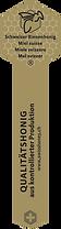 Label d'or - contrôl qualité du miel
