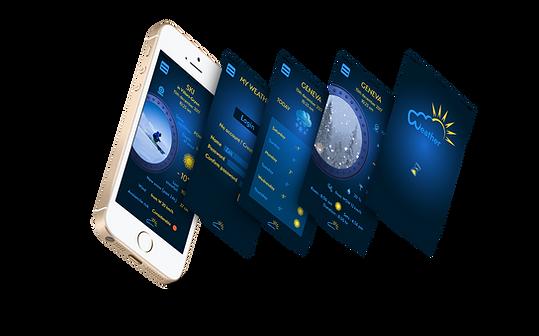 Mockup App Meteo