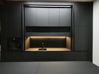 Küche, Fenix, NTM, Nero Ingo, Schwarz matt, Design,