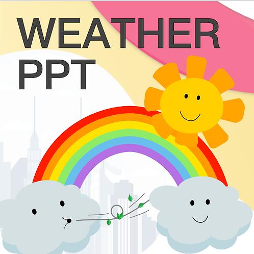 Weather PPT Presentation