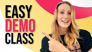 Easy ESL Demo Class