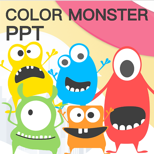 Color Monster PPT- What's Missing?