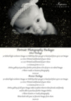 Inspiration Studios Portrait Package 201