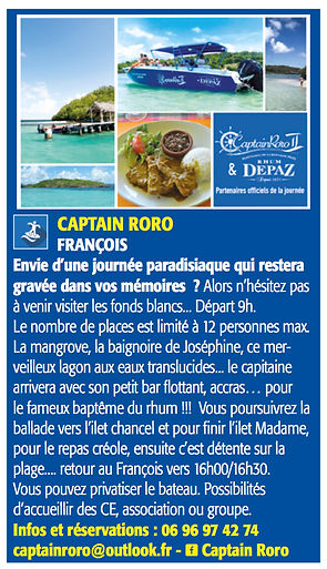captain roro martinique