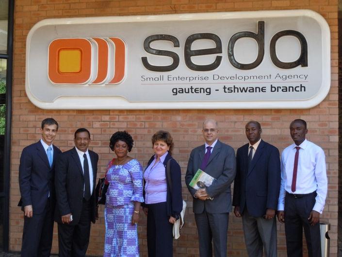 Visita técnica à SEDA, Pretória, África do Sul