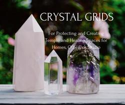 Crystal Gridding for Creating Sacred Spa