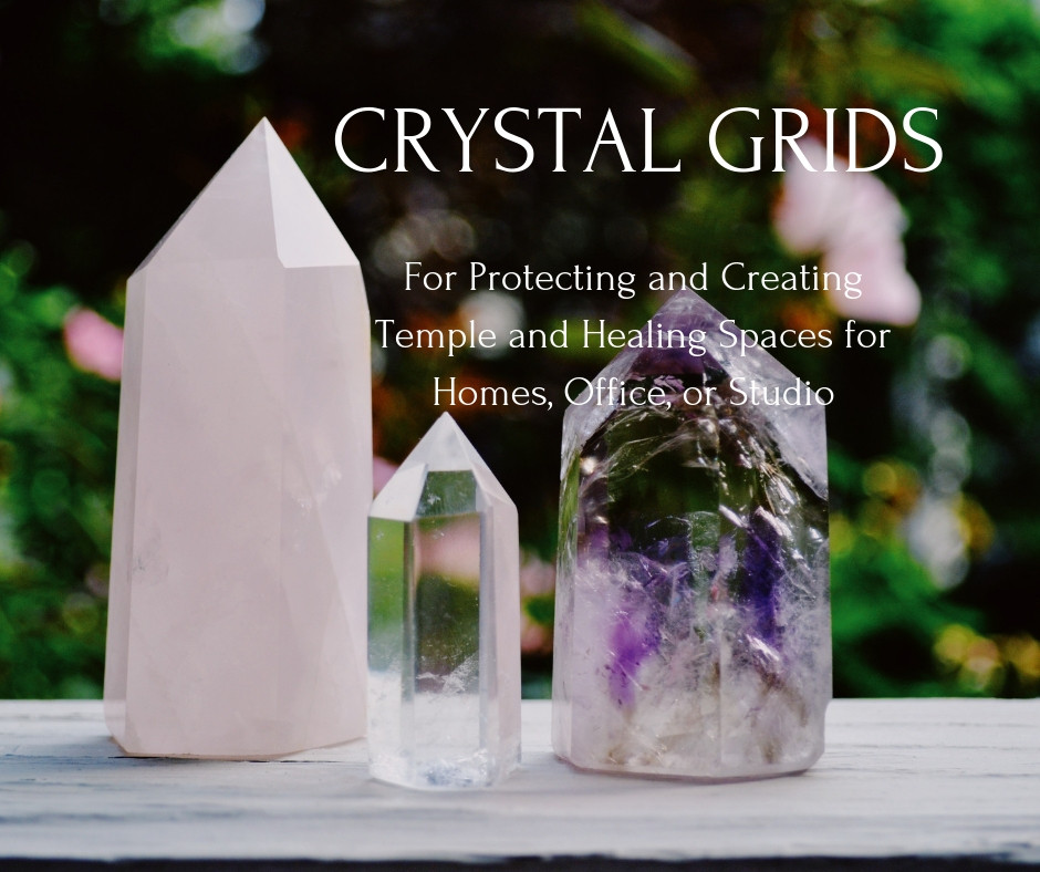 Crystal Gridding for Creating Sacred Spa