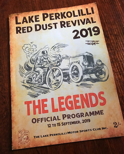Red Dust Revival 2019 Program