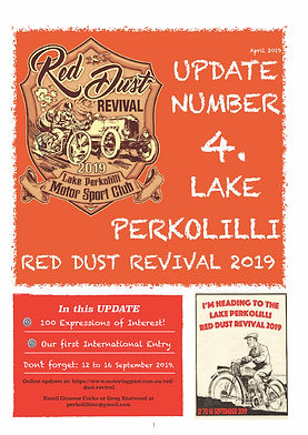 Red Dust Revival NEWsletter Number 4 - A
