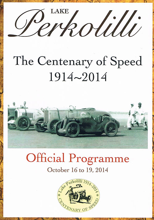 Centenary of Speed 2014 Official Programme