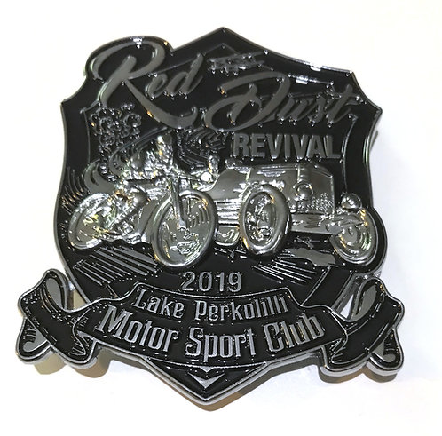 Red Dust Revival Car Badge