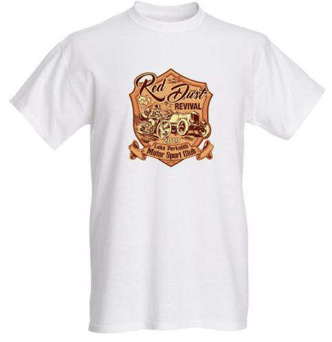 Red Dust Revival T-Shirts - Logo and Dates