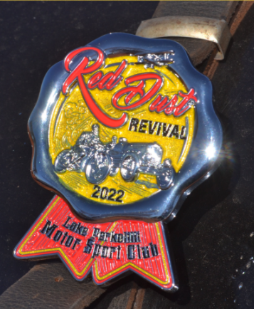 Red Dust Revival 2022 Car Badge