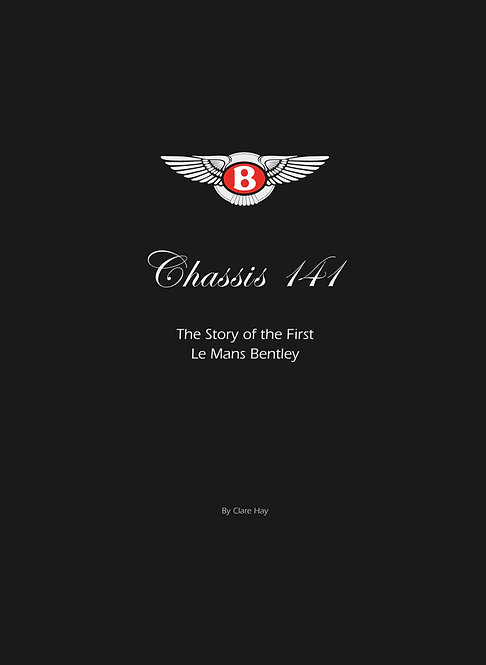 Chassis 141 - The First Le Mans Bentley