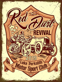 Red Dust Revival Tin Signs