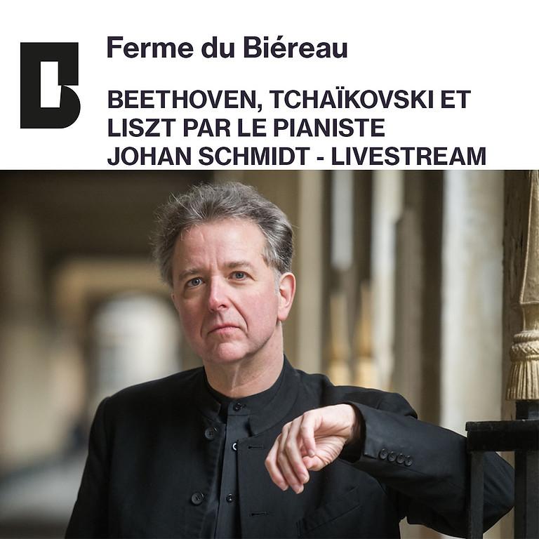 Ferme du Biéreau - Recital Beethoven, Tchaikovsky, Liszt