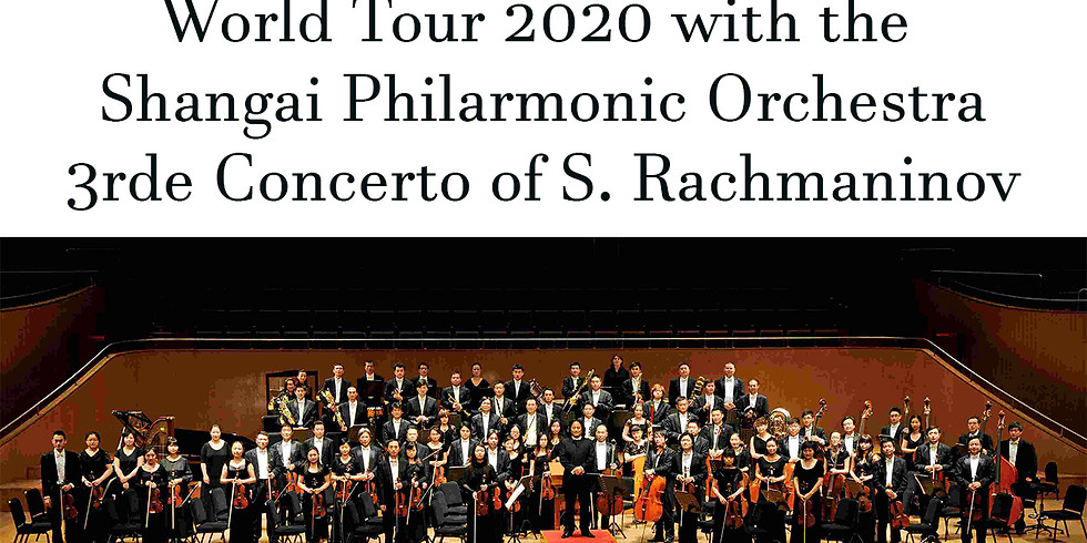 World Tour Shangai Philarmonic Orchestra POSTPOSÉ