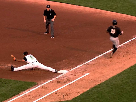 Safe at First   The Dreamweaver