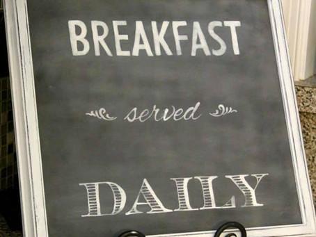 Breakfast | The Dreamweaver