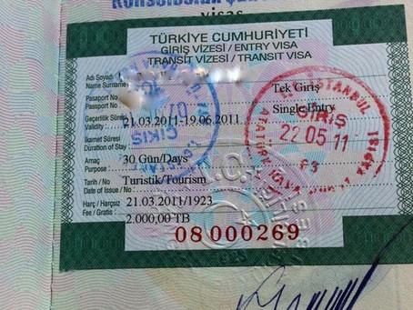 Turkish Visa | The Dreamweaver