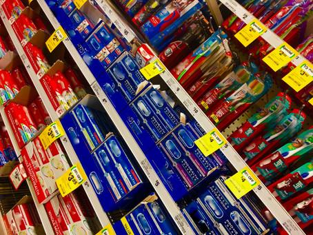 Choosing toothpaste