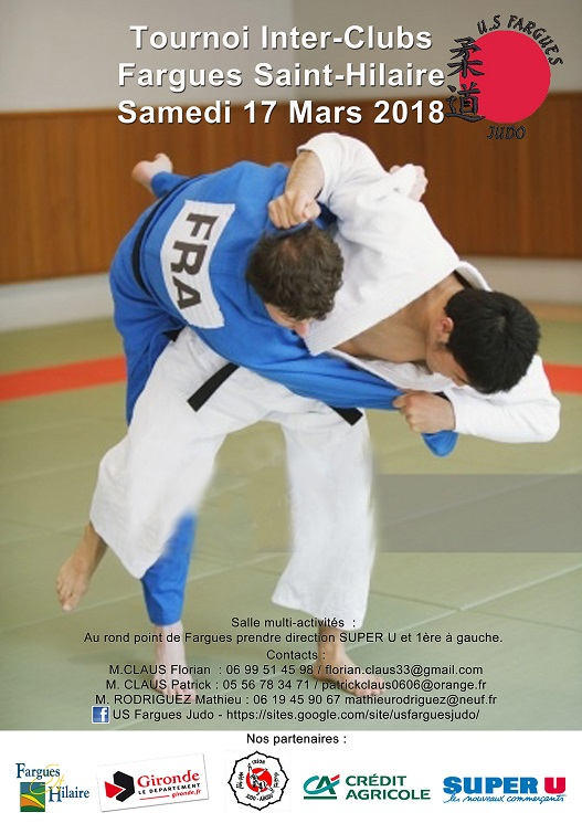 club judo fargues st hilaire