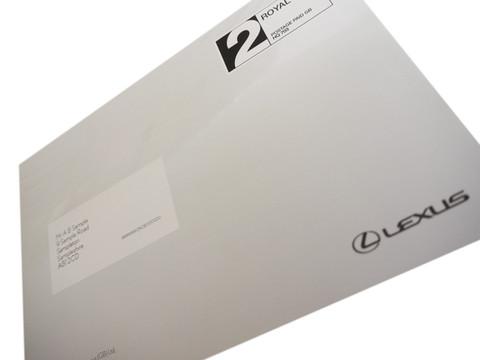Lexus Self Mailer