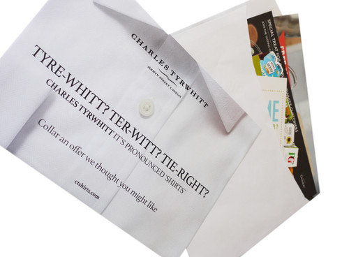 Charles Tyrwhitt Parcel Delivery