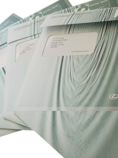 Lexus Board Envelope