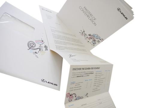 Lexus GS 450h Mailing