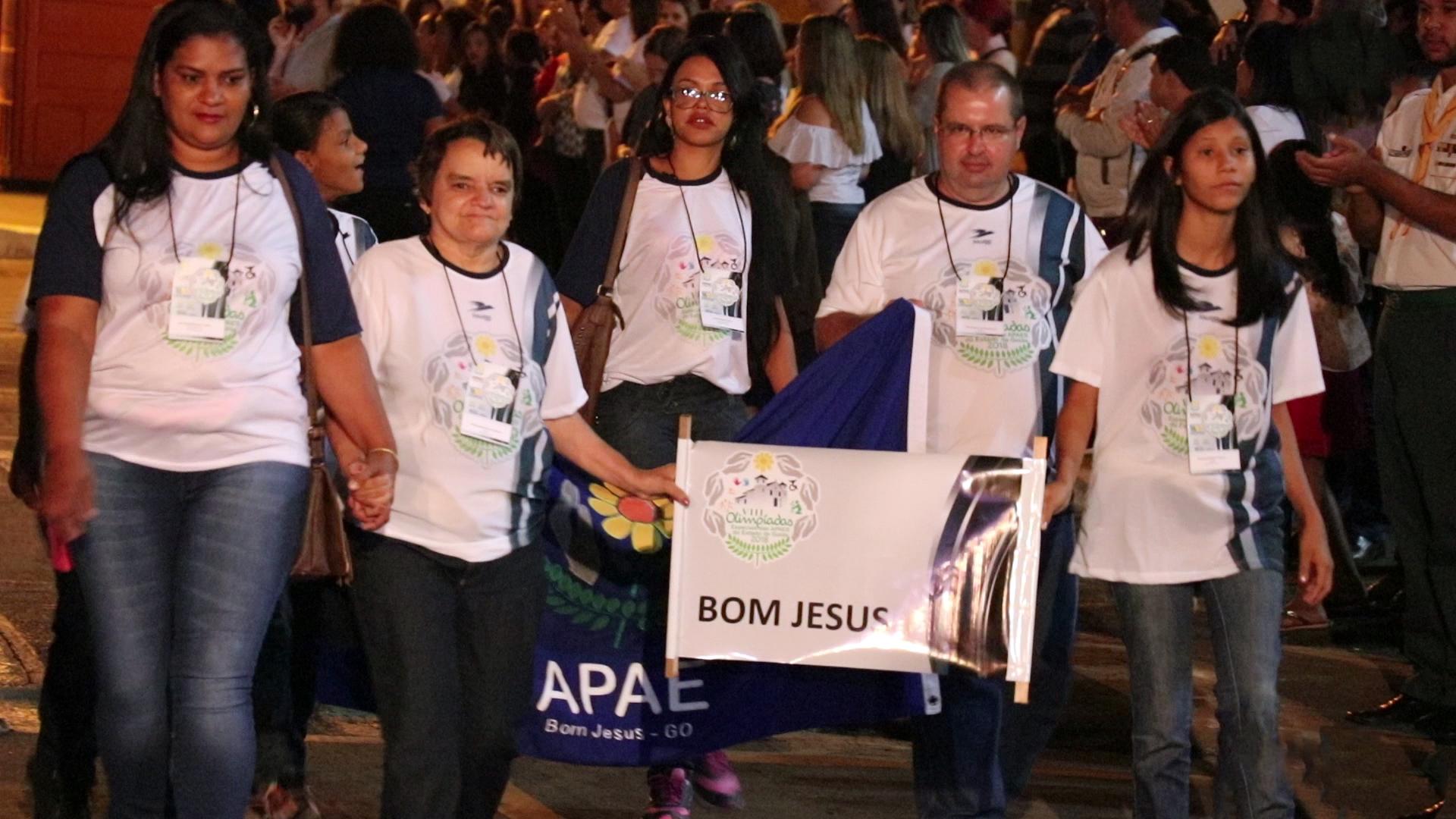 Abertura Olimpiadas APAE 3