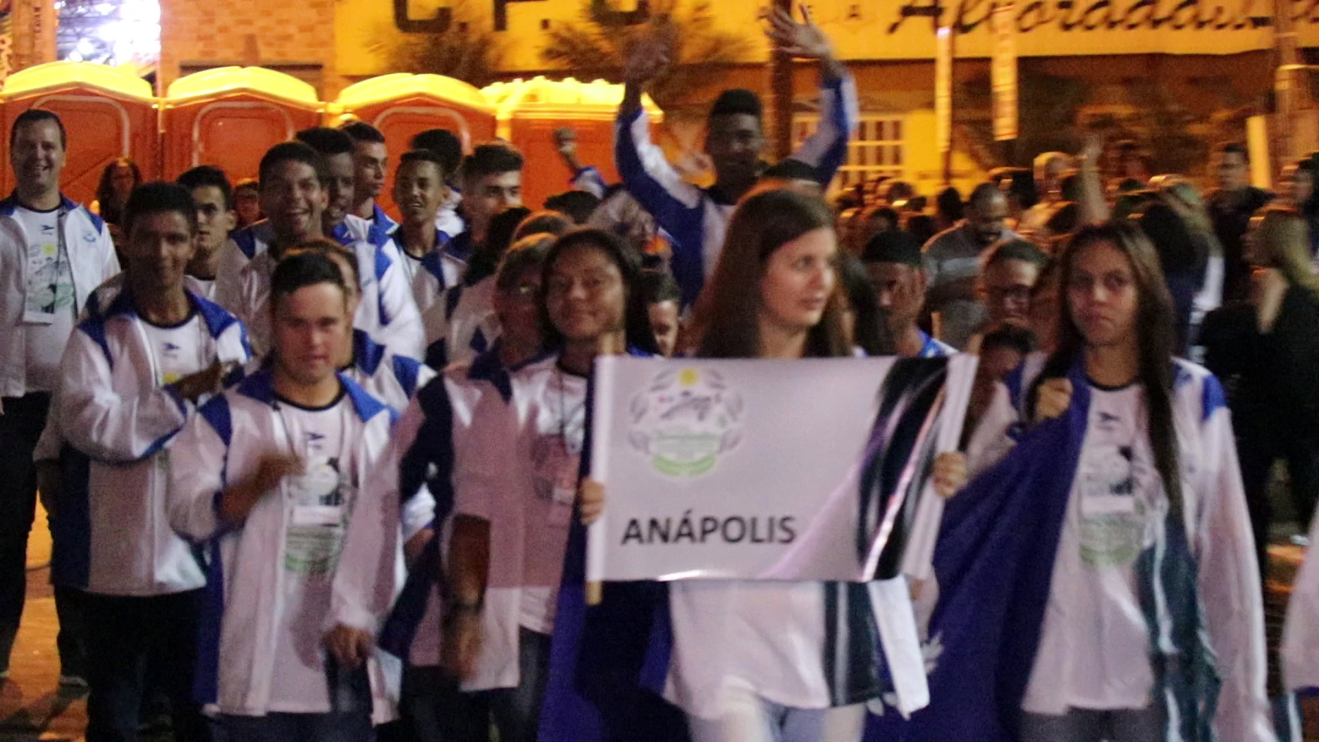 Abertura Olimpiadas APAE 2