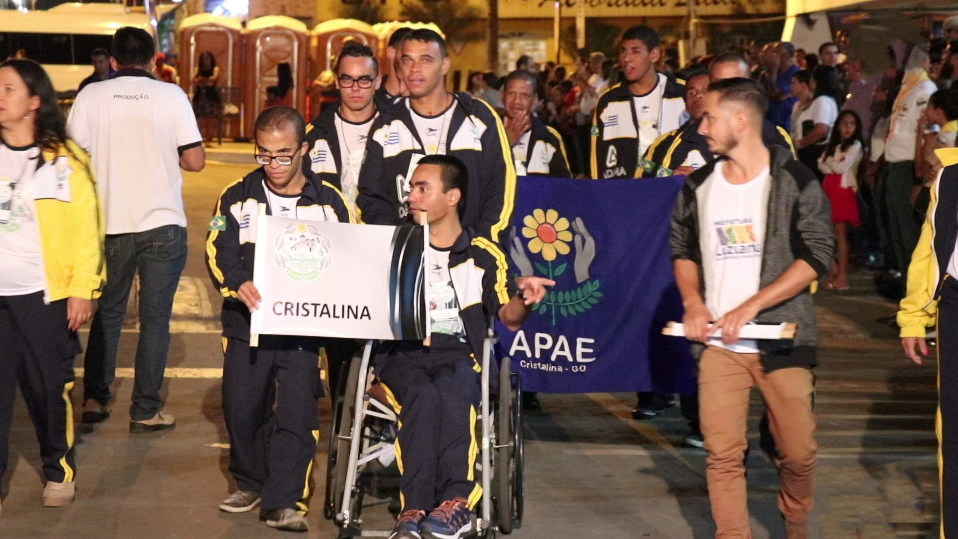 Abertura Olimpiadas APAE 4