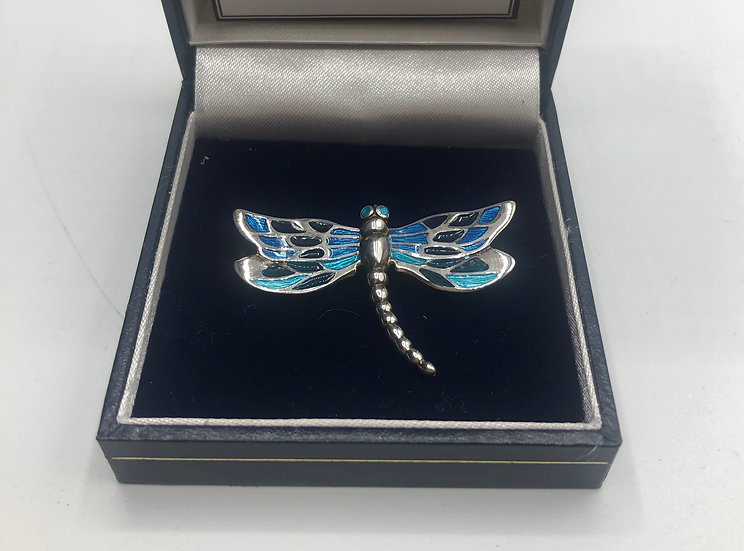 Dragonfly Brooch by Nicole Barr