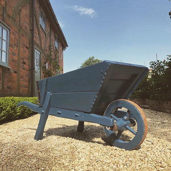 Edwardian Wooden Wheelbarrow