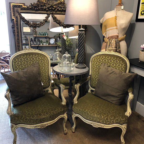 French Salon Armchairs