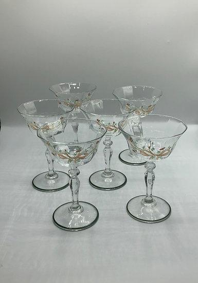 1950's Champagne Glasses
