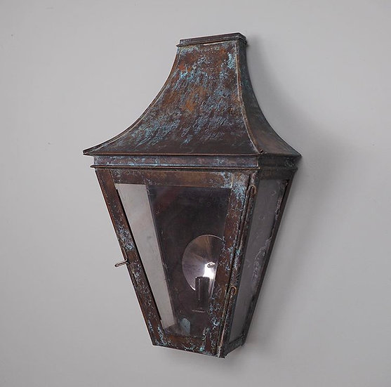 Large Glazed Wall Lantern