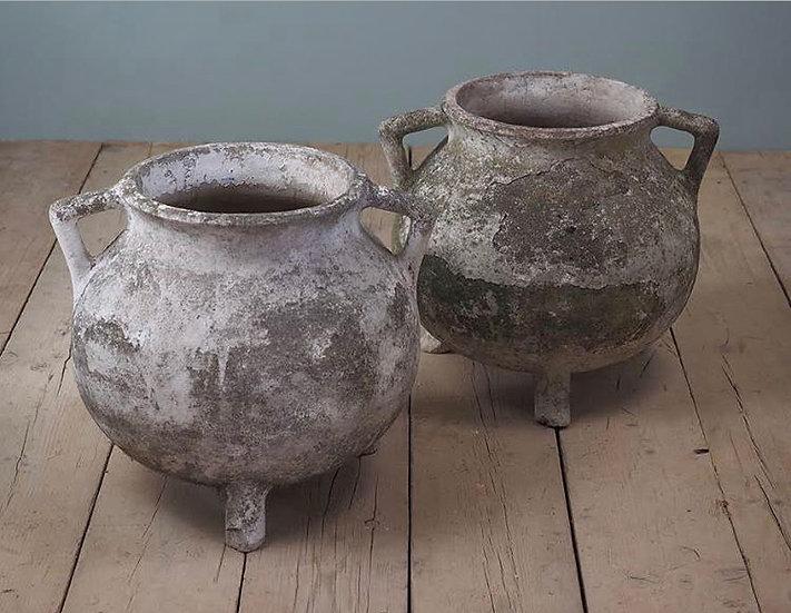 Cement Cauldron Planters