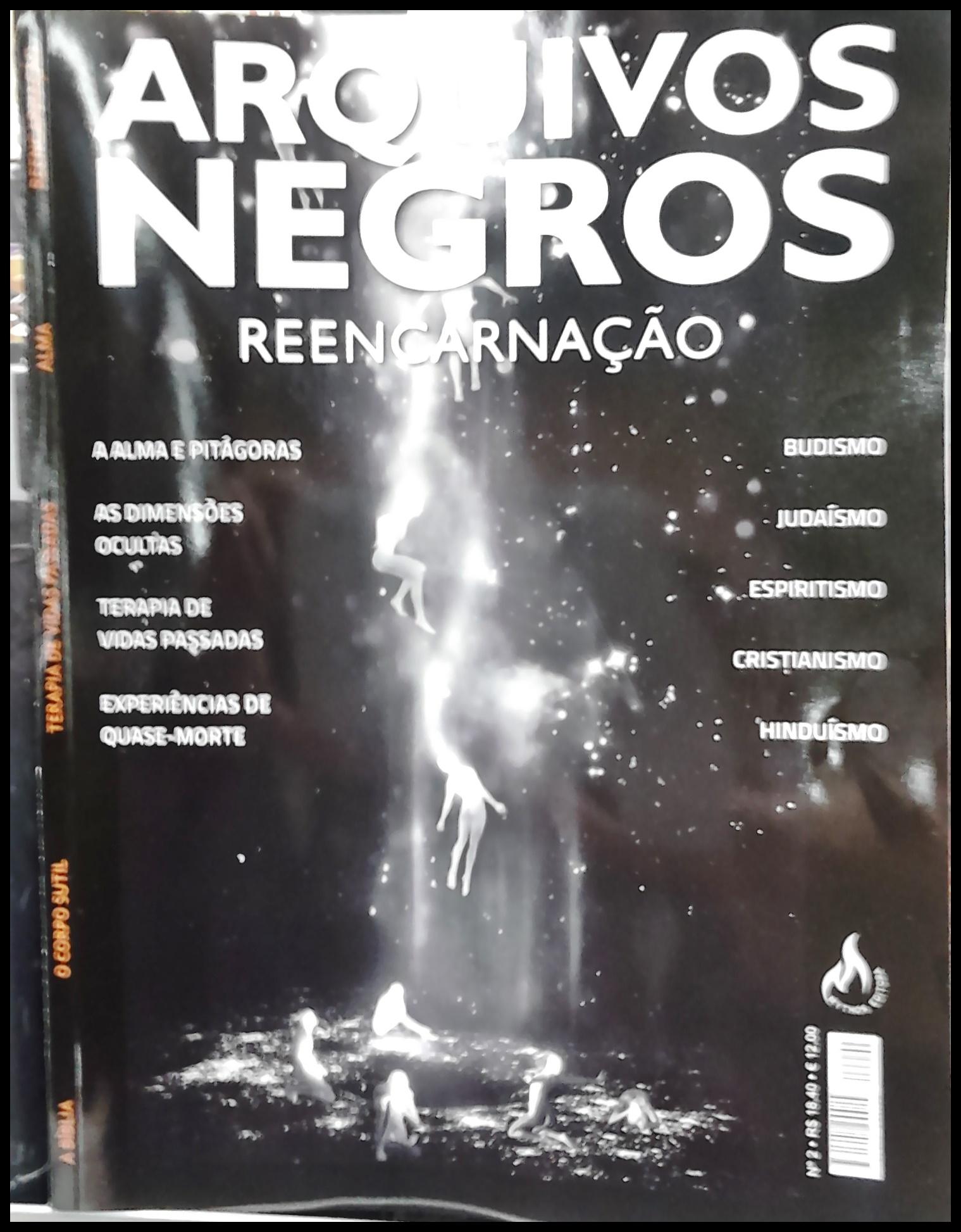 Arquivos Negros Reencarnação